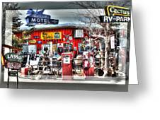 Route 66 Collage Greeting Card
