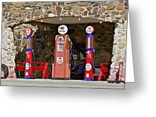 Route 66 - Cool Springs Camp Az Greeting Card