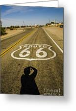 Route 66 Daggett California Greeting Card