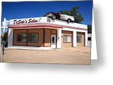 Route 66 - Desoto's Salon Greeting Card