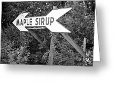 Route 66 - Funk's Grove Sirup Greeting Card