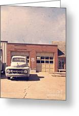 Route 66 Garage Greeting Card
