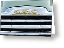 Route 66 Gmc Greeting Card