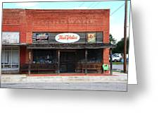 Route 66 - Hardware Store Erick Oklahoma Greeting Card
