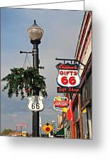 Route 66 In Williams Arizona Greeting Card