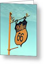 Route 66 - Mclean Texas Greeting Card