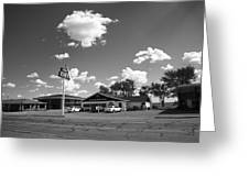 Route 66 - Midpoint Cafe Adrian Texas Greeting Card