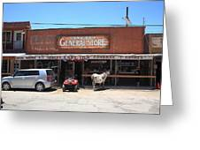 Route 66 - Oatman General Store Greeting Card