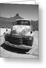 Route 66 - Old Chevy Pickup Greeting Card