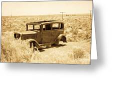 Route 66 Relic Greeting Card