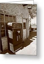 Route 66 - Rusty Coke Machine 2 Greeting Card