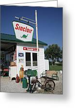 Route 66 - Sinclair Station Greeting Card