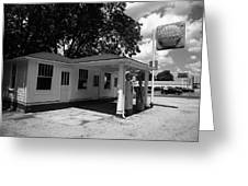 Route 66 - Soulsby Service Station Greeting Card