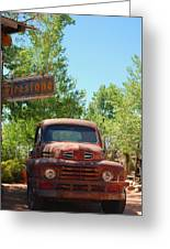 Route 66 Truck Greeting Card