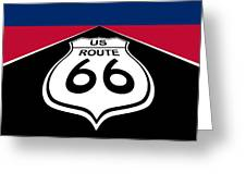 Route 66 - U. S. Greeting Card