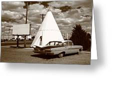 Route 66 - Wigwam Motel 15 Greeting Card