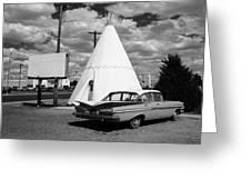 Route 66 - Wigwam Motel 7 Greeting Card