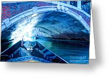 Route To Light Greeting Card