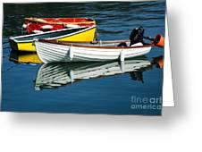 Row-boats Greeting Card