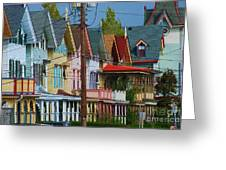 Row Of Color Greeting Card