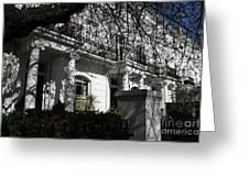 Row Of Edwardian Houses In London Greeting Card
