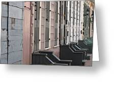 Row Of Houses II Greeting Card