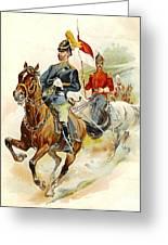 Roxbury Horse Guards 1895 Greeting Card