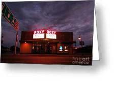 Roxy Theatre Greeting Card