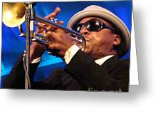 Roy Hargrove 2 Greeting Card