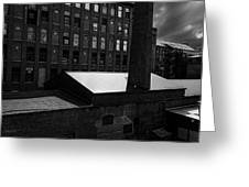 Roy Hill Mill Lewiston Maine Greeting Card