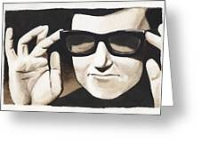 Roy Orbison Greeting Card