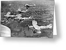 Royal Air Force Formation Greeting Card