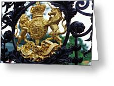 Royal Crest In London Greeting Card