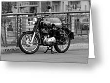 Royal Enfield Goes Berlin Greeting Card