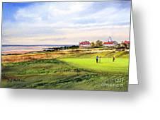 Royal Liverpool Golf Course Hoylake Greeting Card