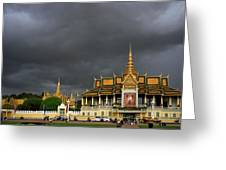Royal Palace Cambodia Greeting Card