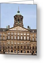Royal Palace In Amsterdam Greeting Card