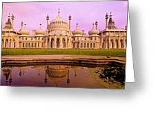 Royal Pavilion In Brighton England Greeting Card