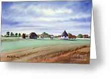 Royal Saint George's Golf Course Greeting Card