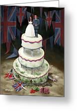 Royal Wedding 2011 Cake Greeting Card