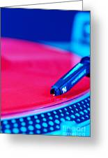 Royall Groove In Vertical Format Greeting Card