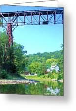 Rr Bridge Greeting Card