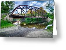 Rt 106 Bridge Greeting Card