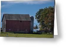 Rt 66 Barn Greeting Card