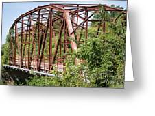 Rt 66 Bridge In Oklahoma Greeting Card