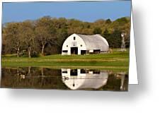 Rt 66 Hay Farm Oklahoma Greeting Card