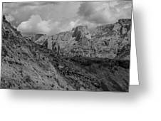 Rocky Landscape Greeting Card