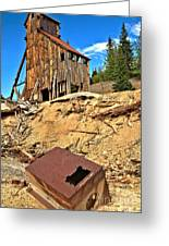 Rubble Under Yankee Girl Greeting Card