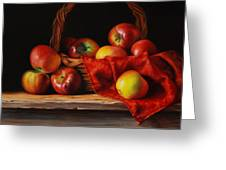 Rubens Apples Greeting Card