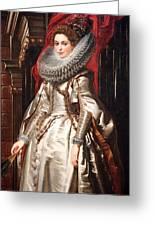 Rubens' Marchesa Brigida Spinola Doria Greeting Card